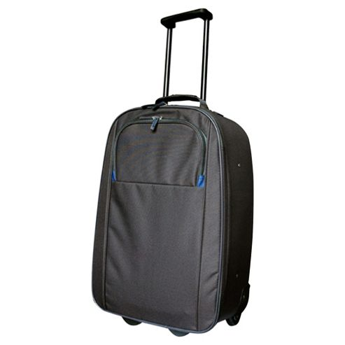 Tesco Classic 2-Wheel Suitcase, Black Medium