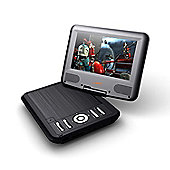 Lava LD-926 9'' Screen Portable DVD Player With Fox Family 4x Movie Bundle