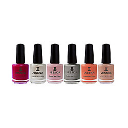JESSICA Custom Nail Colour 7.4ml - 125 Ashes of Rose