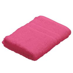 Tesco Face Cloth, Raspberry