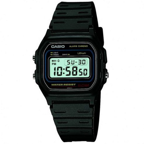 Casio Computer Gents Digital Watch Black