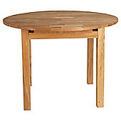 Chesham extending round dining table