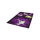 Oriental Carpets & Rugs Hong Kong 2827 Purple/Green Rug - 120cm x 170cm
