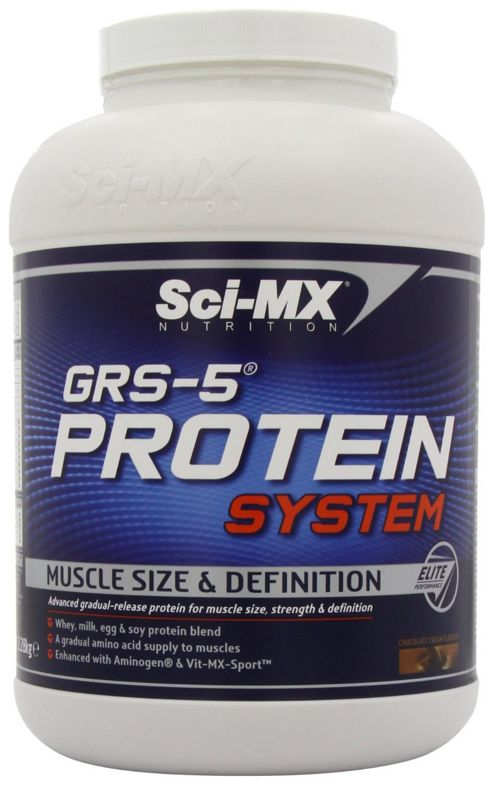 Sci-Mx Grs-5 Protein System 2.28kg Chocolate