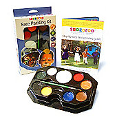 Snazaroo Face Painting Kit - Primary Colours