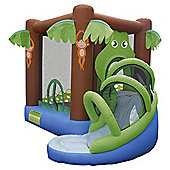 Tesco Crocodile Airflow Bouncy Castle