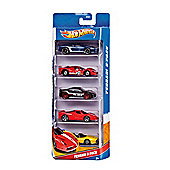 Hot Wheels Cars 5 Pack- Assortment – Colours & Styles May Vary
