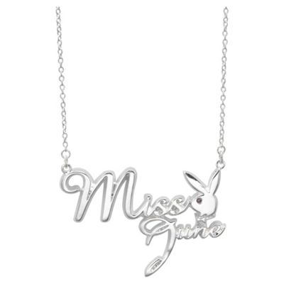 Playboy Miss June Pendant