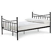 Lincoln Double Bed Frame, Black