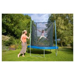 Tesco 8ft Trampoline with Safety Enclosure