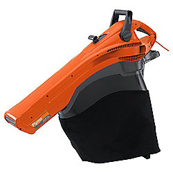 Flymo Garden Vac 2700W Turbo - Electric Garden Vacuum