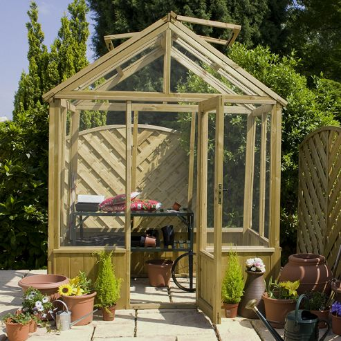 Mercia 8 X 6 Pressure Treated Greenhouse