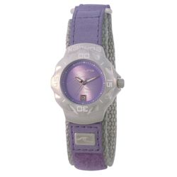Kahuna Ladies Lilac Webbing Strap Watch