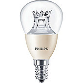 Philips 6-40W Dimmable Clear Golf Ball LED Bulb - Small Edison Screw (SES)