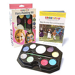 Snazaroo Face Painting Kit - Pastel Colours