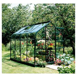 8x6 Supreme Greenframe Greenhouse Toughened Glass