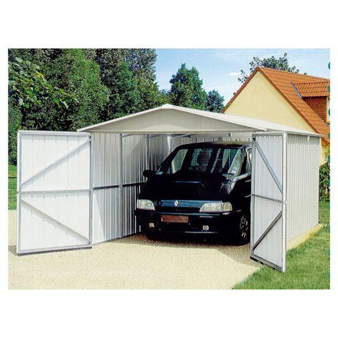 Yardmaster Metal Garage, 10x17ft