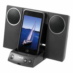 Logic3  MIP011 i-Station11 iPod Speaker Black
