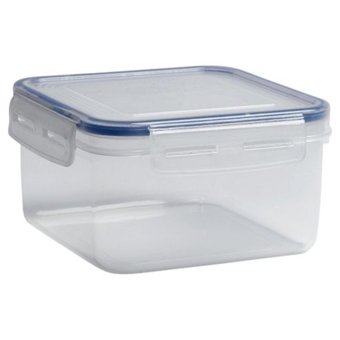 Tesco Klip Fresh 1.1L  Square Food Container