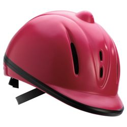 Sports Riding Hat Child High Gloss Pink