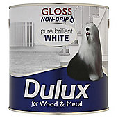 Dulux Non-drip Gloss, Pure Brilliant White, 2.5L