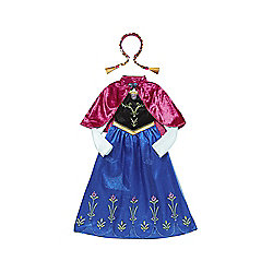Disney Frozen Anna Dress-Up Costume years 05 - 06 Multi