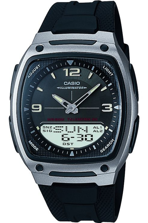 Casio Gents Illuminator Combination Watch AW-81-1A1VES