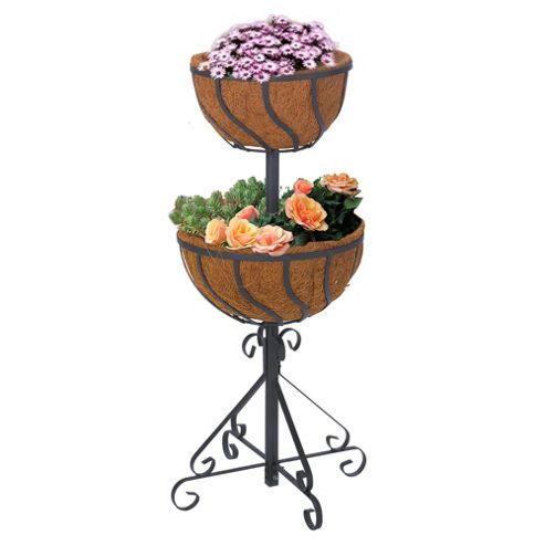 Tesco 2 Tier Flower Fountain with Liners