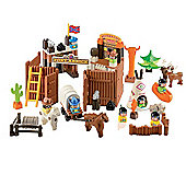abrick Wild West Fort Playset