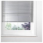 Sunflex Aluminium Venetian Blind, Silver 90cm