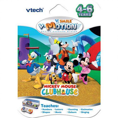 VTech V.Smile V-Motion Mickey Mouse Club House