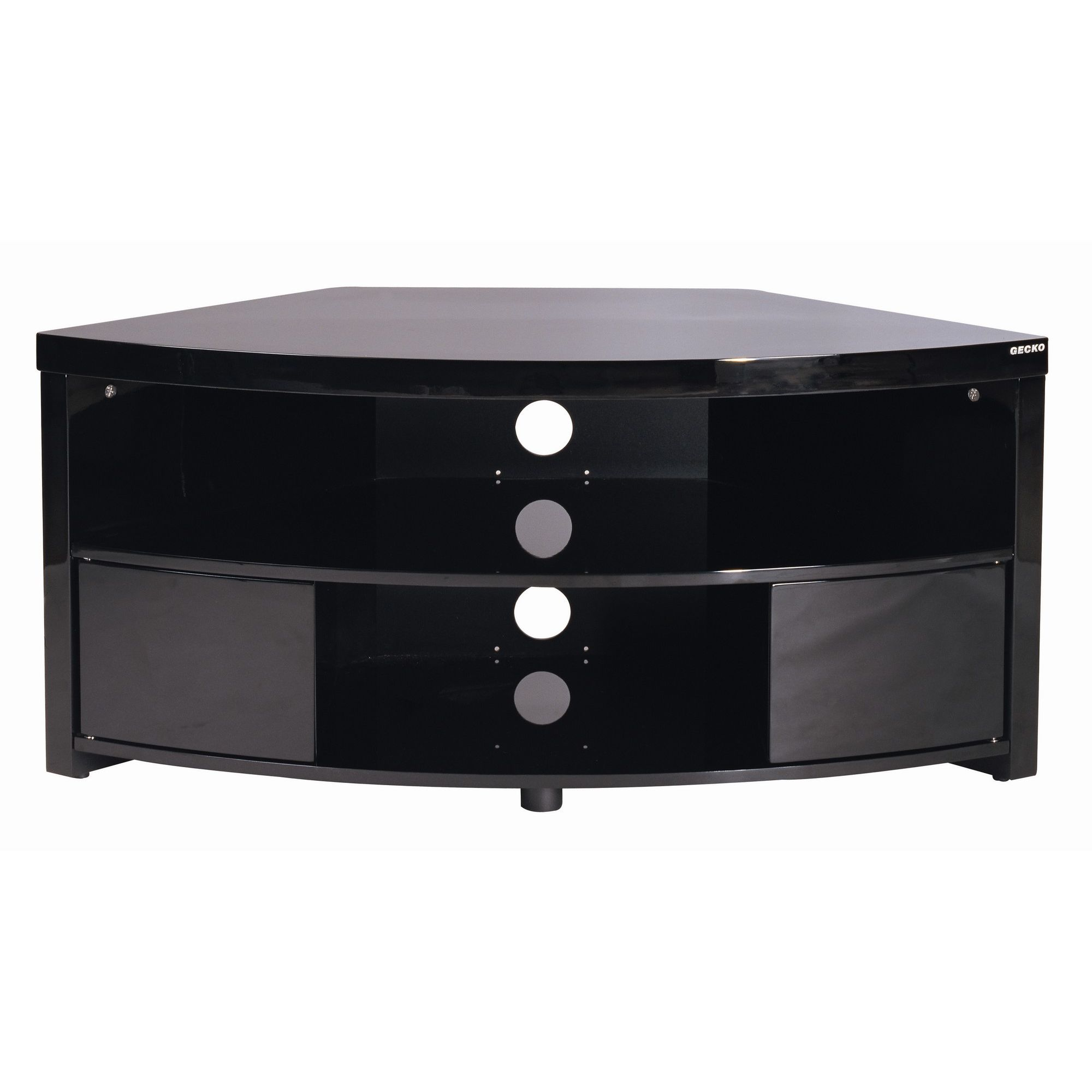 Gecko Impro TV Cabinet - Gloss Black at Tesco Direct