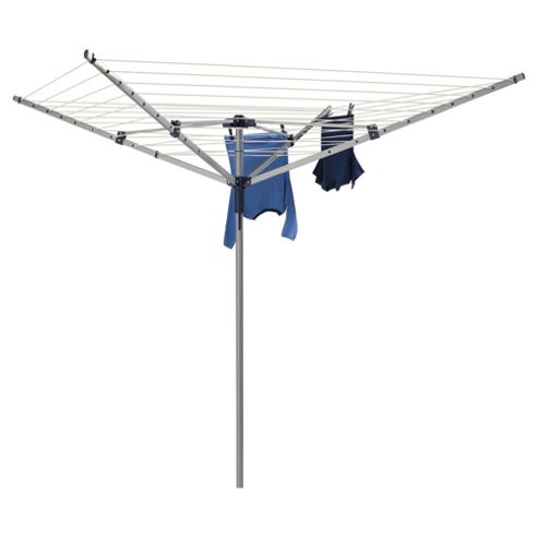 Tesco Steel 40M 4 Arm Rotary Clothes Airer
