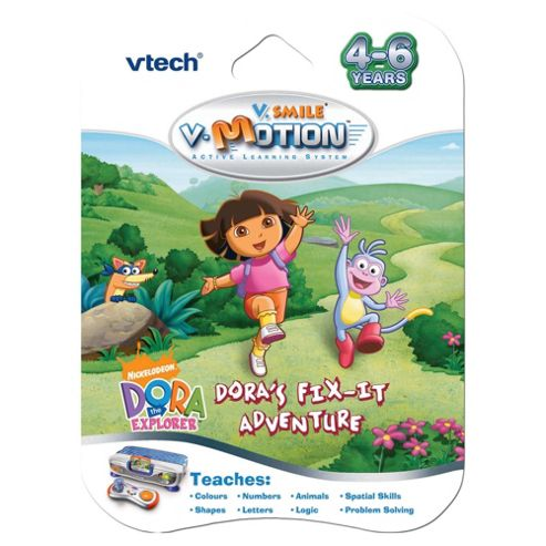 VTech V.Smile V-Motion Dora the Explorer - Dora's Fix-It Adventure