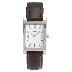 Lorus Ladies Brown Leather Strap
