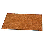 Tesco PVC Backed Coir Mat Plain 40x60cm