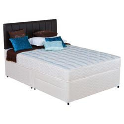 Silentnight Miracoil 3-Zone Montana 2 Drawer Double Divan Bed