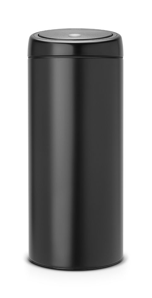 Brabantia Black 30L Touch Top Bin
