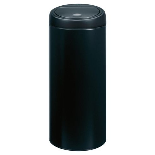 Brabantia 30L black touch bin
