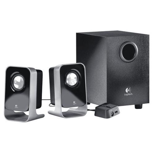 Logitech LS21 2.1 Stereo Speaker System - Black