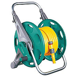 Hozelock 2 in 1 Reel with Hose, 25m