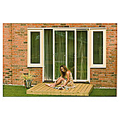 Finnlife Easy build deck kit (2mx2m).