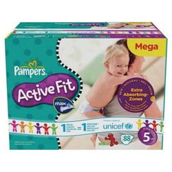 Pampers Active Fit Mega Pack Junior 93
