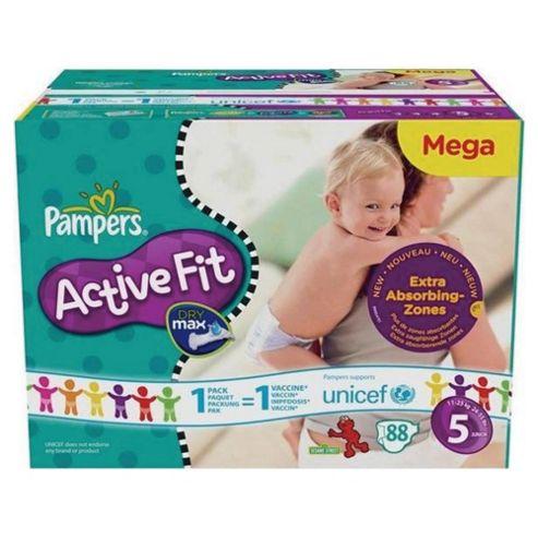 Pampers Active Fit Mega Pack Junior 93