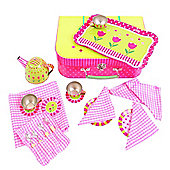 Bigjigs Toys BJ604 Pink Flower Tea Set