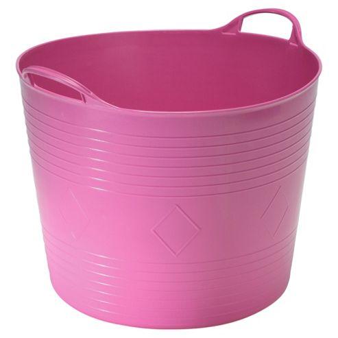 42L Flexi Tub, Pink