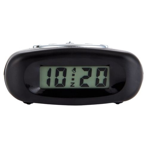 Acctim Bentima LCD Alarm Clock Black