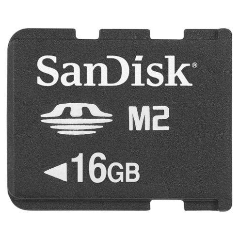 SanDisk 16GB M2 Memory Card - Black