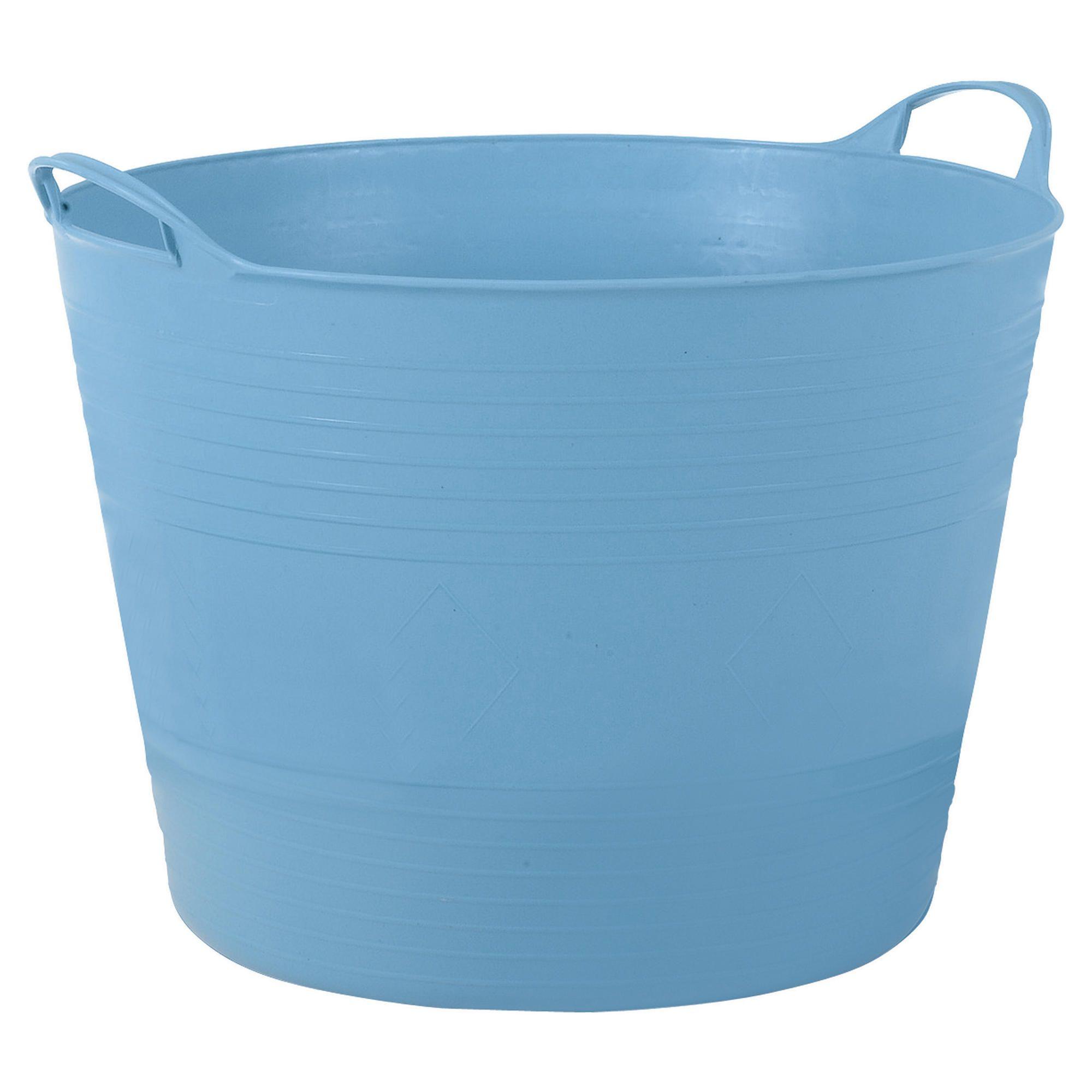 42L storage tubs blue