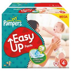 Pampers Easy Up Mega Pack Maxi 84 size 4